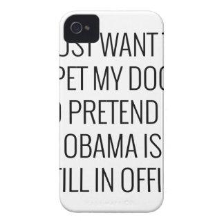Coque Case-Mate iPhone 4 Chien Obama