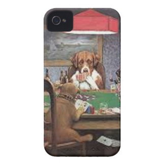 Coque Case-Mate iPhone 4 Chiens jouant au poker
