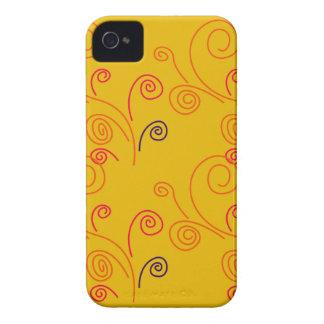 Coque Case-Mate iPhone 4 Conception de gens d'ornements d'or