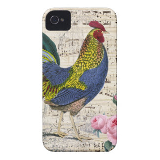 Coque Case-Mate iPhone 4 Coq chic minable