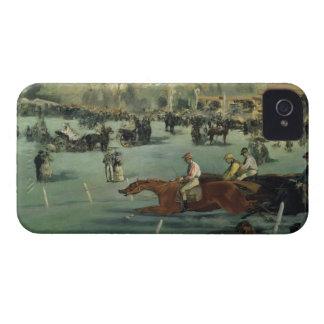 Coque Case-Mate iPhone 4 Course de chevaux de Manet  , 1872