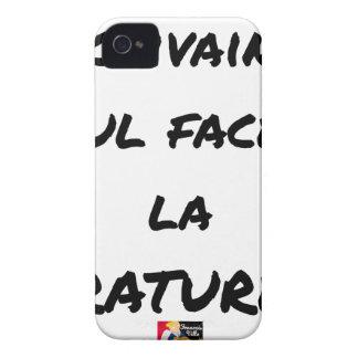Coque Case-Mate iPhone 4 ECRIVAIN ? SEUL FACE À LA RATURE - Jeux de mots