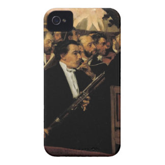 Coque Case-Mate iPhone 4 Edgar Degas - l'orchestre d'opéra - art vintage