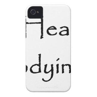 Coque Case-Mate iPhone 4 Étant honneurs sains adaptés incarnant le blanc de