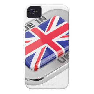 Coque Case-Mate iPhone 4 Fabriqué au Royaume-Uni