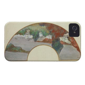 Coque Case-Mate iPhone 4 Fan d'Edgar Degas |, c.1879