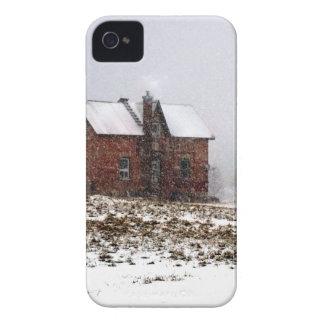 Coque Case-Mate iPhone 4 Ferme en hiver