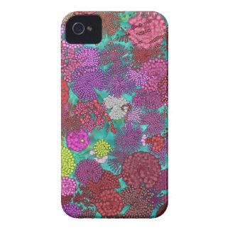 Coque Case-Mate iPhone 4 Fleurs d'artifice