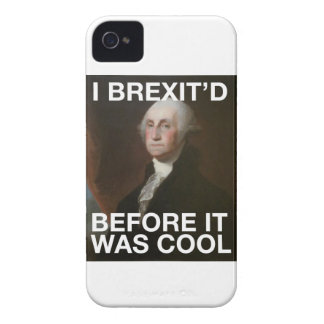 Coque Case-Mate iPhone 4 George Washington Brexit'd avant qu'il ait fait