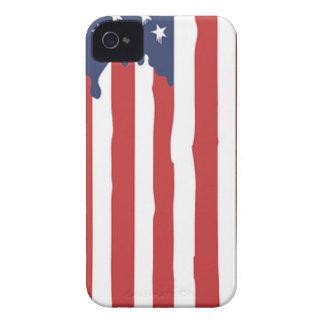 Coque Case-Mate iPhone 4 Graffiti Etats-Unis de drapeau américain uni