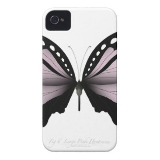 Coque Case-Mate iPhone 4 Grand chasseur rose de papillon rose