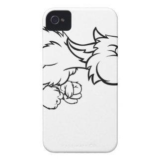 Coque Case-Mate iPhone 4 Grand mauvais soufflement de loup de trois petits