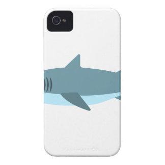 Coque Case-Mate iPhone 4 Grand style de primitif de requin blanc