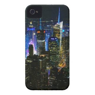 Coque Case-Mate iPhone 4 Gratte-ciel de Manhattan Etats-Unis de nuit de New