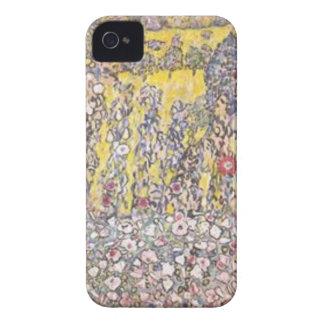 Coque Case-Mate iPhone 4 Gustav Klimt - paysage horticole avec le sommet