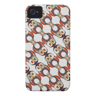 Coque Case-Mate iPhone 4 hiboux