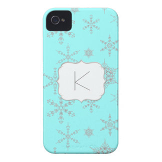 Coque Case-Mate iPhone 4 Hiver imprimé Bling de bijoux de flocons de neige