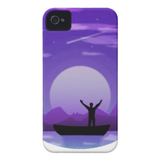Coque Case-Mate iPhone 4 Illustration de nuit de paysage