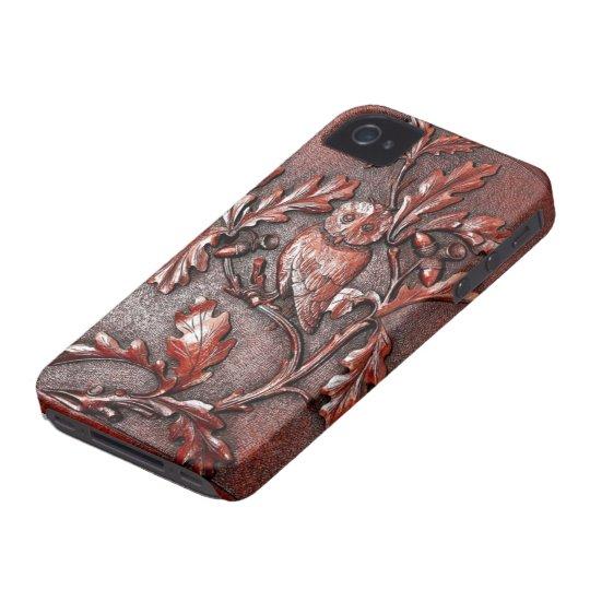 Coque case mate iphone 4 iphone en bois de hibou for Case en bois