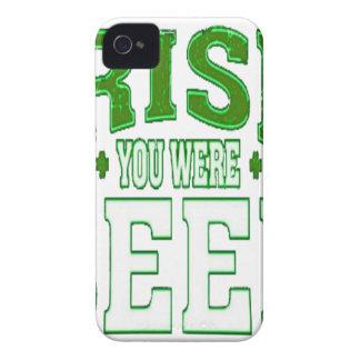 COQUE Case-Mate iPhone 4 IRLANDAIS VOUS ÉTIEZ BIÈRE