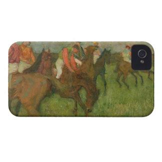 Coque Case-Mate iPhone 4 Jockeys d'Edgar Degas |, 1886-90
