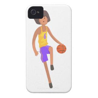 Coque Case-Mate iPhone 4 Joueur de basket fonctionnant avec l'autocollant