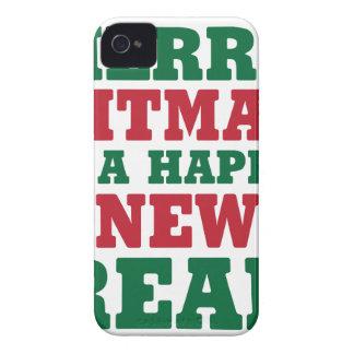 Coque Case-Mate iPhone 4 Joyeux Fitmas