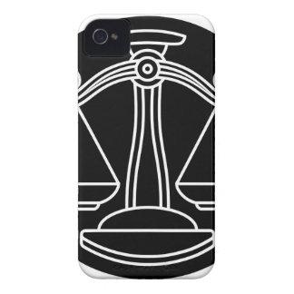 Coque Case-Mate iPhone 4 La Balance mesure le signe de zodiaque d'horoscope