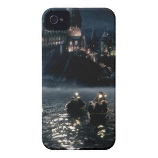 Coque Case-Mate iPhone 4 Lac castle   de Harry Potter grand à Hogwarts