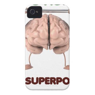 Coque Case-Mate iPhone 4 L'autisme est la superpuissance, cadeau de levage