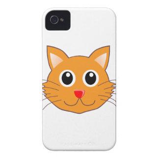 Coque Case-Mate iPhone 4 Le chat orange au nez rouge