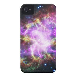 Coque Case-Mate iPhone 4 Le rayon X de Chandra dans la nébuleuse de crabe