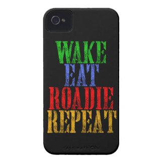 Coque Case-Mate iPhone 4 Le sillage mangent la répétition de ROADIE