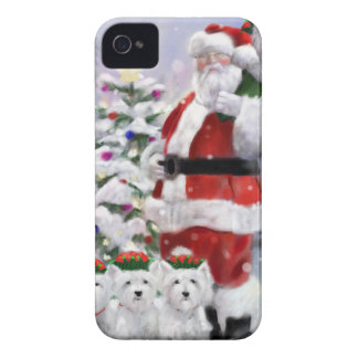 Coque Case-Mate iPhone 4 Les aides de Père Noël