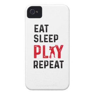 Coque Case-Mate iPhone 4 Mangez la limande de joueur de cool du football de