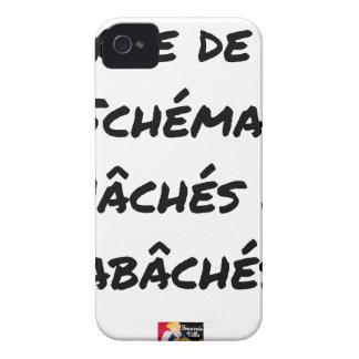 COQUE Case-Mate iPhone 4 MARRE DE VOS SCHÉMAS MÂCHÉS ET RABÂCHÉS