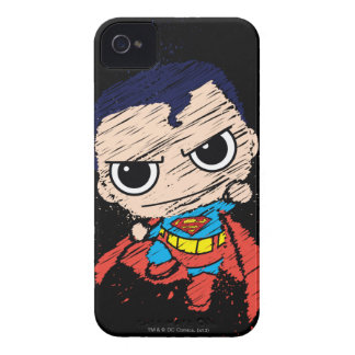 Coque Case-Mate iPhone 4 Mini croquis de Superman - vol