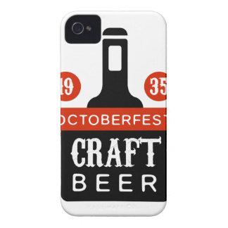 Coque Case-Mate iPhone 4 Modèle de conception de logo de bière de métier