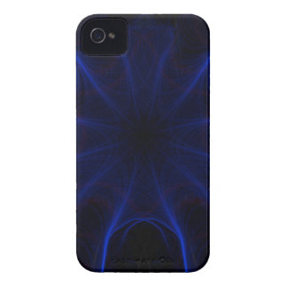 Coque Case-Mate iPhone 4 motif bleu de laser