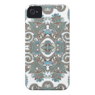 Coque Case-Mate iPhone 4 Motif bleu décoratif