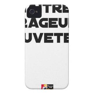 Coque Case-Mate iPhone 4 NAÎTRE RAGEUR SAUVETEUR - Jeux de mots