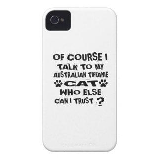 COQUE Case-Mate iPhone 4 NATURELLEMENT JE PARLE À MON DES AUSTRALIEN DE CAT