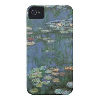 Coque Case-Mate iPhone 4 Nénuphars par Claude Monet, fleurs vintages