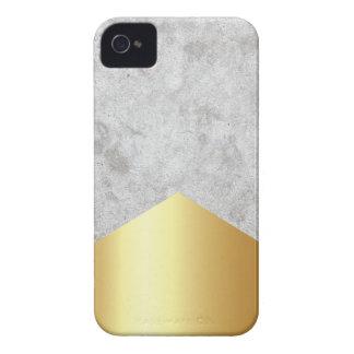 Coque Case-Mate iPhone 4 Or concret #372 de flèche