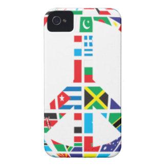 Coque Case-Mate iPhone 4 Paix globale