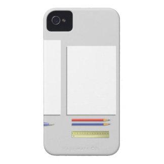 Coque Case-Mate iPhone 4 papiers d'approvisionnements