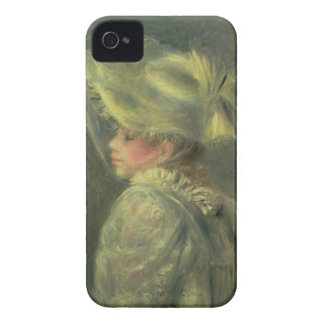 Coque Case-Mate iPhone 4 Pierre un Renoir | le casquette blanc
