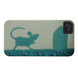 Coque Case-Mate iPhone 4 Porte de souris d'exclusivités de cool d'art de