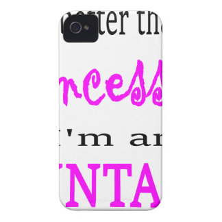 COQUE Case-Mate iPhone 4 PRINCESSE ACCOUNTANT