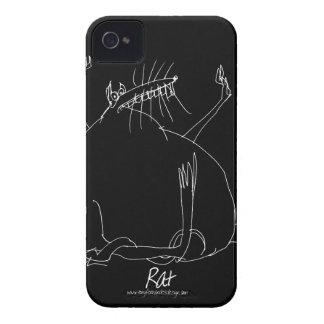 Coque Case-Mate iPhone 4 rat magique